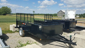 "2016 HEAVY DUTY UTILITY 6 X 12 WITH 24 "" PANEL SIDE STOCK"