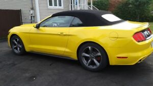 2015 Ford Mustang Cabriolet Décapotable