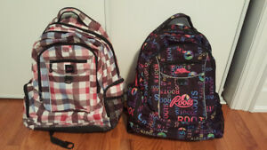 Roots backpacks