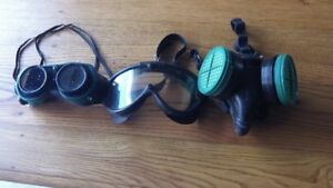 Vintage Goggles and Mask