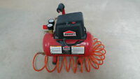 JobMate 3 Gallon 100PSI Air Compressor + Line and Blower