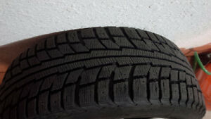 Audi winter rims and tires Kitchener / Waterloo Kitchener Area image 4