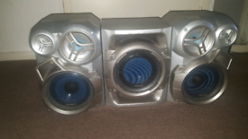 panasonic speakers and sub woofer