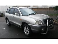 Hyundai Santa Fe 2.0 manual.