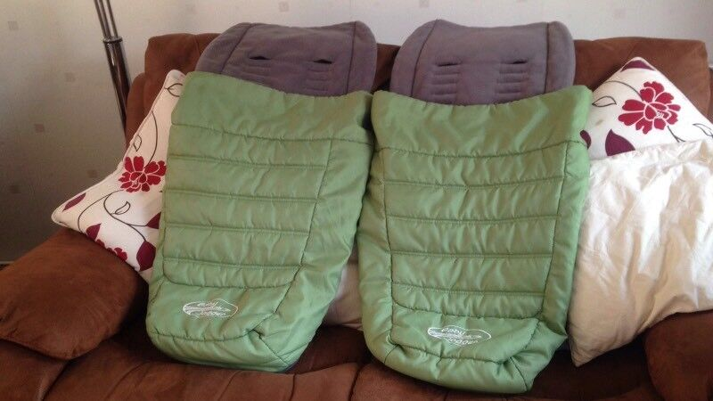 x2 Baby Jogger Cosy Toes / Foot Muffs
