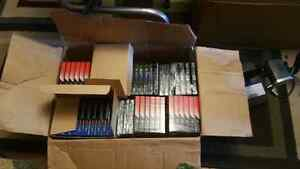 Box of 100 sealed blank cassettes