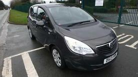 2013 Vauxhall Meriva 1.4i 16v Turbo ( 140ps )Exclusiv grey only 30818 miles
