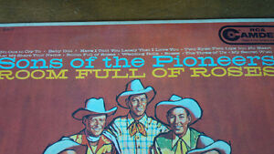 LP: Sons of the Pioneers, Room Full of Roses Kitchener / Waterloo Kitchener Area image 2