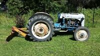 1950 ish 8n ford with blade will trade for classic restro
