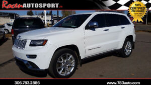 CERTIFIED 2014 JEEP GRAND CHEROKEE SUMMIT - PST PAID!-1OWNER!