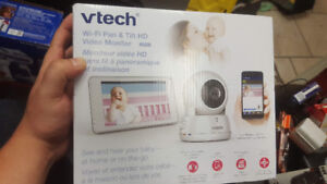 "vtech baby monitor with 5"" touch screen controller. brand new"