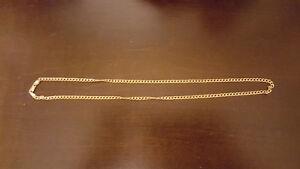 "20"" 10k gold necklace"