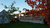 Canal-Flats...B.C.  Mobile Home on own Lot..
