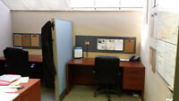 Furnished office space for rent with extras