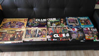 Clue and Mystery Games