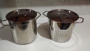 Paderno Chaudiere 10L pot with Steamer