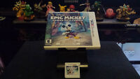 Jeux 3DS 15$&+: Disney Epic Mickey, Angry Birds, Disney Infinity