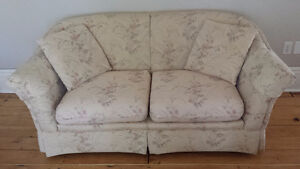 Loveseat - excellent condition; great reupholstering project