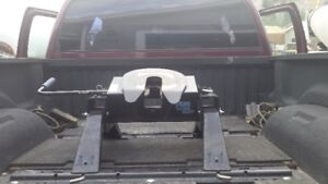 Pro Series 15000 5th Wheel Hitch, Rails and Mounting Brackets