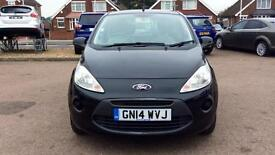 2014 Ford Ka 1.2 Edge (Start Stop) Manual Petrol Hatchback