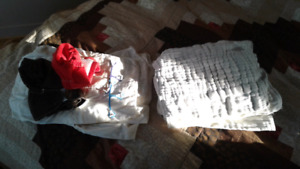 Cloth diapers flat cotton snappy Velcro covers
