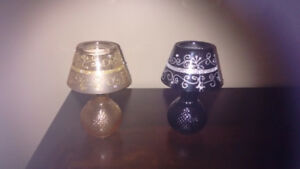 Crystal Candle Lamps with shades