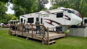 RV site for rent in Campbell River