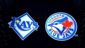 Toronto Blue Jays vs Tampa Bay Rays (S129 & 210) Sept 3-5