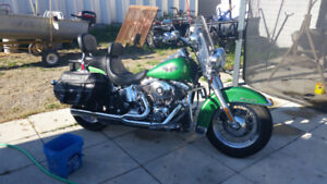 2003 Harley FLSTC Heritage softail classic. Trade for sportster