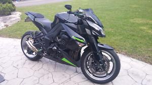 2010 kawasaki z1000 - streetfighter/naked bike