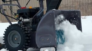 YardWorks 24in 208cc snowblower for sale