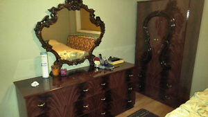 Bedroom set and dressers