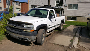 2002 chev 2500 HD for sale