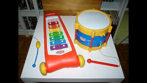 Jouets musical Little Tykes 10$ Chaque