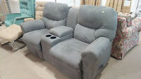 double recliner - #HFHReStore Charlottetown Prince Edward Island Preview