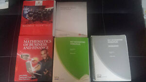 Fanshawe Accounting books
