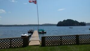 Waterfront lot Ready to build your dream home