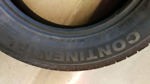 Single Tire size P225/60 R17