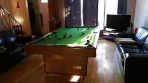 Moving sale 4 x 8 Pool Table . Must see !