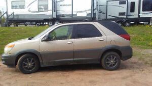 2002 Buick Rendezvous Black SUV, Crossover