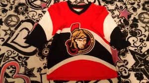 Ottawa Senators NHL by pro player child sm 3-6 yrs brampton