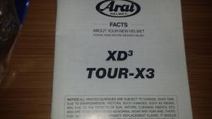 Arai XD-3 Helmet for sale
