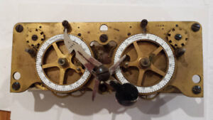 Wanted old bank safe locks or mechanisms.