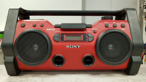 Sony Portable Rugged Boombox Stereo
