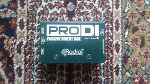 Radial Pro DI, Yes Sir