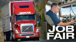Professional Class 1 Drivers Job Fair Monday Feb 25