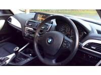 2015 BMW 1 Series 116d SE 5dr Manual Diesel Hatchback