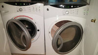 GE Fully automatic Washer + Dryer