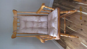 Solid Maple Rocking Chair