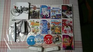 Nintendo Wii with 13-Games for sale